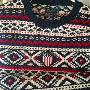 Ralph Lauren polo Olympic sweater